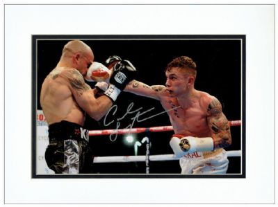 Carl Frampton Autograph Signed Photo